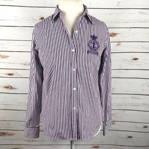 Lauren Ralph Lauren Classic Crest Shirt Vtg 90s